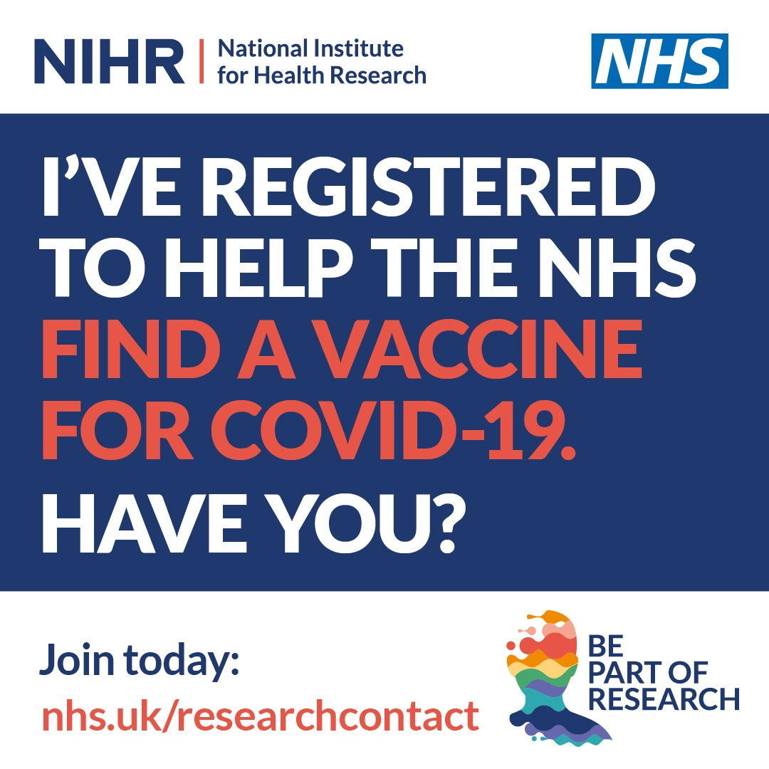 Support NHS vaccine  trials
